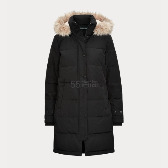 Ralph Lauren 拉夫劳伦 Quilted Down Coat 女士长款羽绒服 7.29(约819元) - 海淘优惠海淘折扣|55海淘网