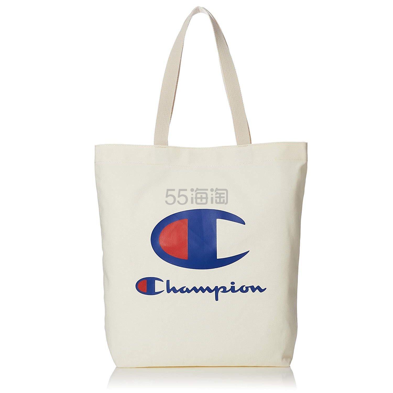 低价!【中亚Prime会员】Champion 冠军 日版大LOGO帆布包/帆布袋 到手价109元 - 海淘优惠海淘折扣|55海淘网