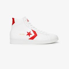 【白敬亭同款】Converse Pro Leather 红标白底高帮运动鞋