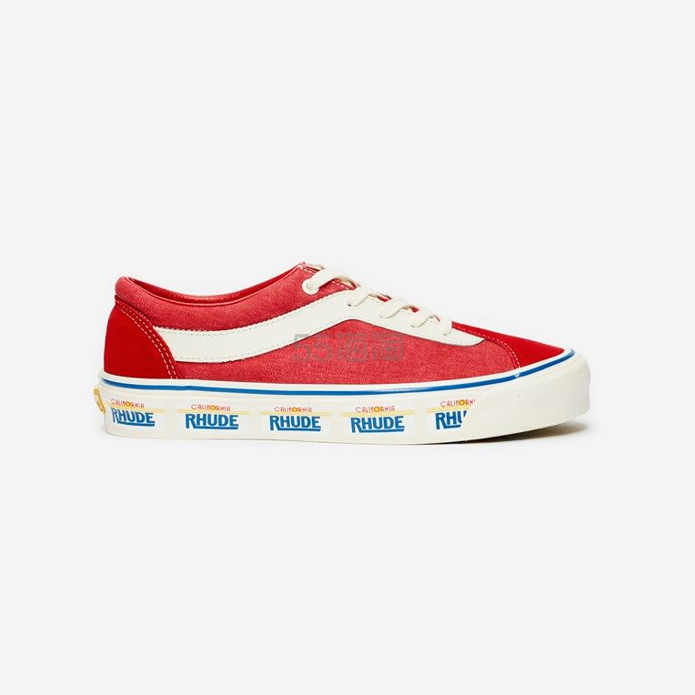 Vans X Rhude 联程 Bold NI 红色板鞋 0(约697元) - 海淘优惠海淘折扣 55海淘网