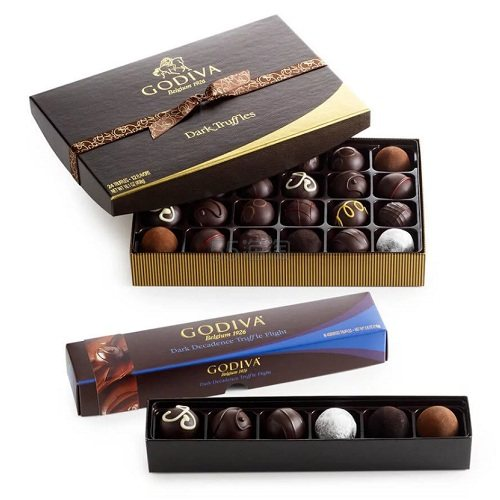 Godiva 歌帝梵 黑松露巧克力套装 (约404元) - 海淘优惠海淘折扣|55海淘网