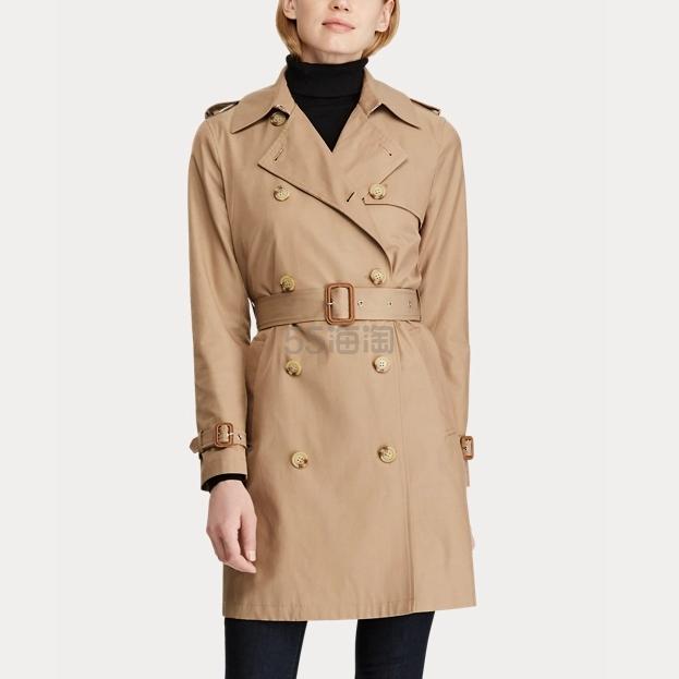 Ralph Lauren 拉夫劳伦 Trench Coat 娇小版风衣 .59(约569元) - 海淘优惠海淘折扣|55海淘网