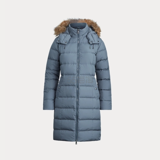 Ralph Lauren 拉夫劳伦 Faux-Fur-Trim Down Coat 长款羽绒外套 3.98(约1,771元) - 海淘优惠海淘折扣|55海淘网