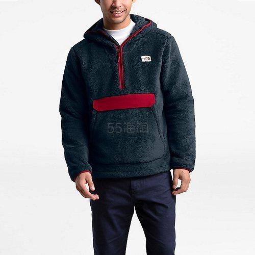 【额外8.5折+限时高返11%】The North Face 北面 男士 Campshire 套头连帽衫 多色码全 3.95(约794元) - 海淘优惠海淘折扣|55海淘网