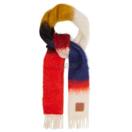 LOEWE Anagram 马海毛混纺围巾 €195(约1,517元) - 海淘优惠海淘折扣|55海淘网