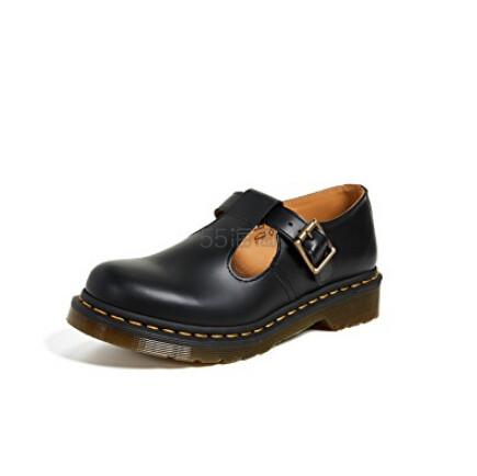 Dr. Martens Polley T Bar 女士皮鞋