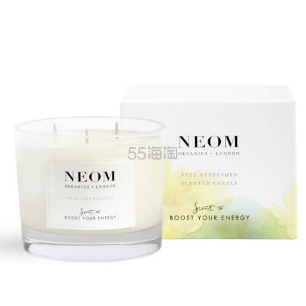 NEOM Feel Refreshed 爽神焕活三芯香氛蜡烛 420g ¥288.2 - 海淘优惠海淘折扣|55海淘网