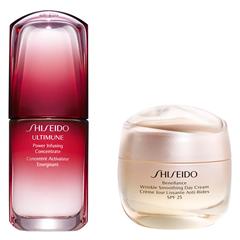 【1套免费直邮】7.2折+赠礼!Shiseido 资生堂 红腰子精华 30ml + 盼丽风姿日霜50ml