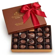 Godiva 歌帝梵 牛奶巧克力礼盒 22颗