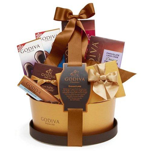 Godiva 歌帝梵 招牌巧克力篮 .96(约313元) - 海淘优惠海淘折扣|55海淘网