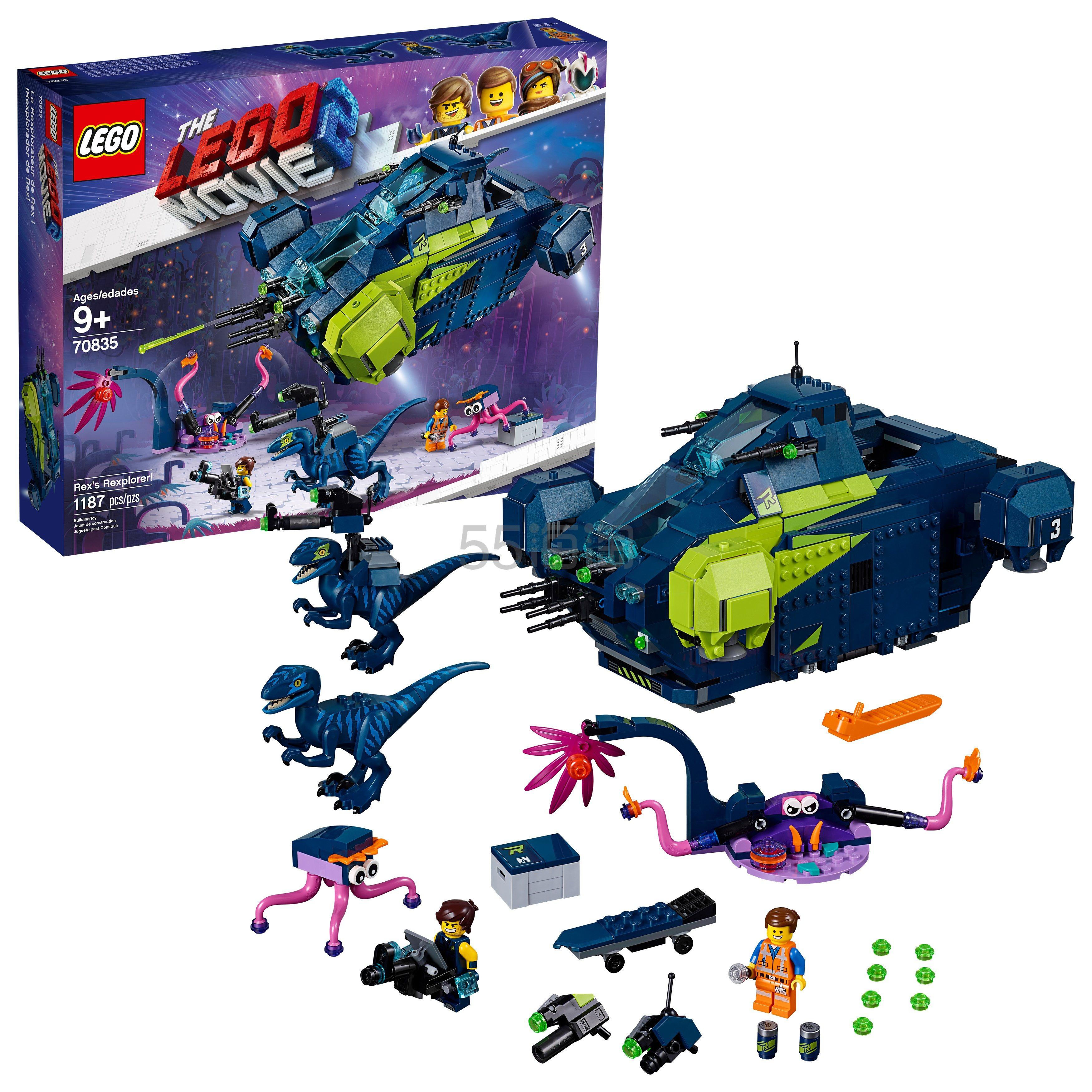 史低价!LEGO 乐高 大电影系列 70835 雷克斯战斗飞船 .99(约404元) - 海淘优惠海淘折扣 55海淘网