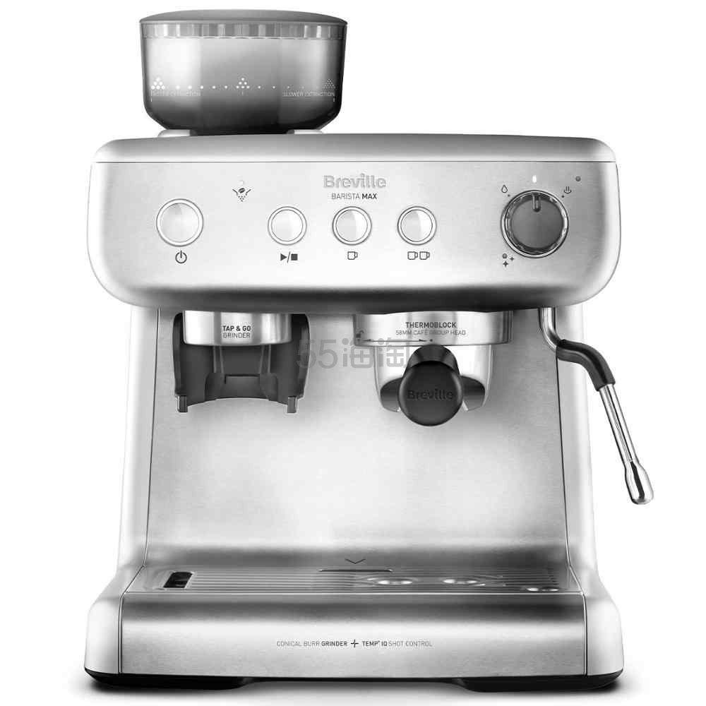 史低价!【中亚Prime会员】Breville 铂富/Sage Barista Max VCF126X 半自动咖啡机 到手价2632元 - 海淘优惠海淘折扣 55海淘网