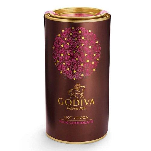 Godiva 歌帝梵 牛奶巧克力热可可罐 10份 .21(约78元) - 海淘优惠海淘折扣 55海淘网