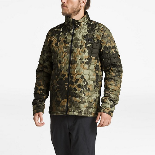 【高返+满$99减$12】The North Face 北面 ThermoBall 混合型保暖迷彩外套