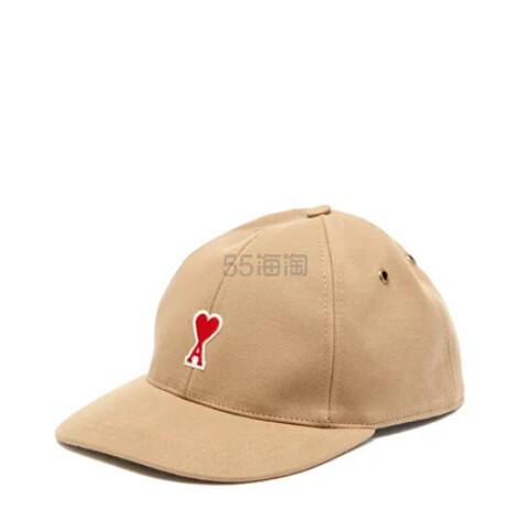 AMI Logo 贴花棕色棒球帽 €50(约390元) - 海淘优惠海淘折扣 55海淘网
