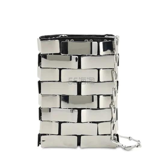 PACO RABANNE 银色单肩包 €525(约4,091元) - 海淘优惠海淘折扣 55海淘网