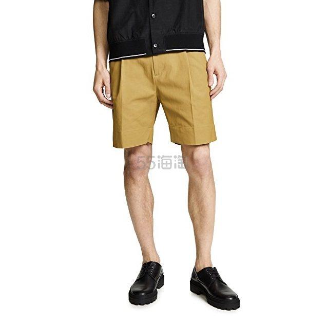 【双12】3.1 Phillip Lim 修身裥褶短裤 .75(约548元) - 海淘优惠海淘折扣|55海淘网