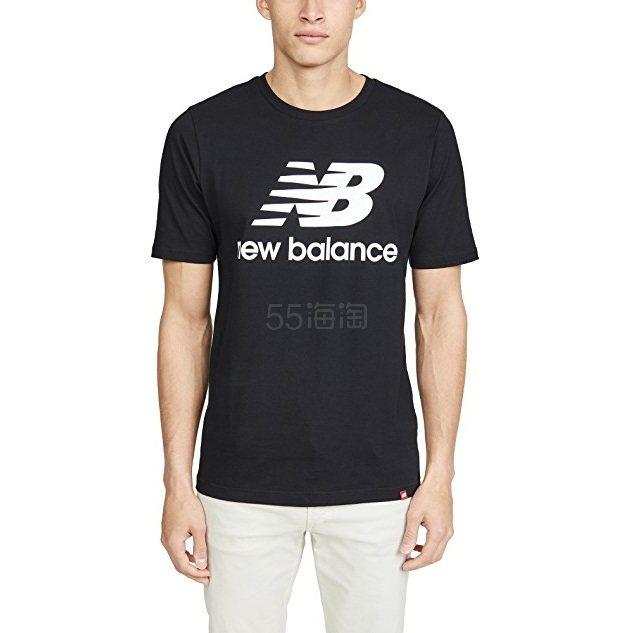 New Balance 新百伦 Essentials 徽标T恤 .25(约78元) - 海淘优惠海淘折扣|55海淘网