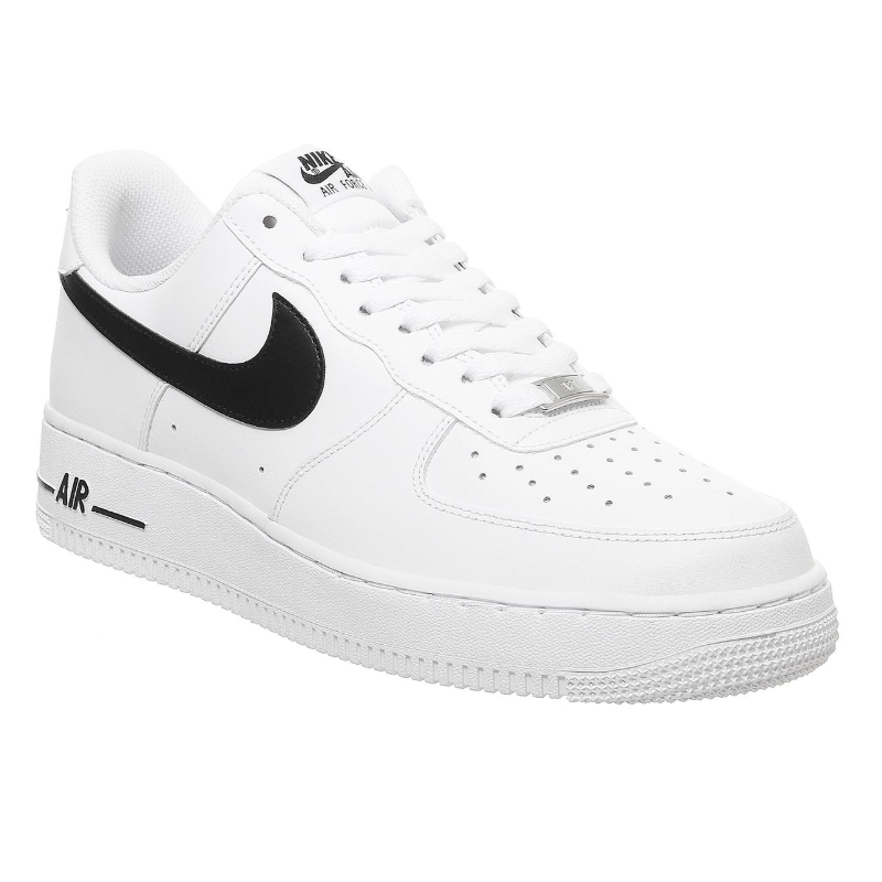 Nike Air Force 黑色 SWOOSH 运动鞋
