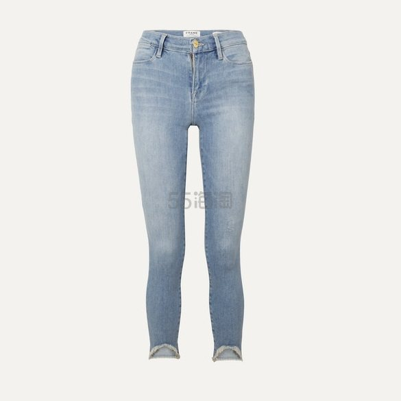 FRAME Le High 紧身牛仔裤 £147(约1,363元) - 海淘优惠海淘折扣|55海淘网