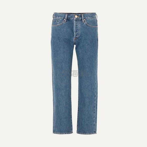 GOLDSIGN The Relaxed 中腰直筒牛仔裤 £231(约2,142元) - 海淘优惠海淘折扣 55海淘网
