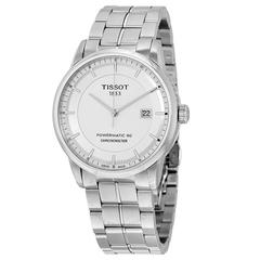 额外立减$50!Tissot 天梭 Luxury Automatic 系列 银色男士卓越工艺腕表 T086.408.11.031.00