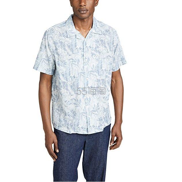 Vince 加州印花衬衫 .5(约408元) - 海淘优惠海淘折扣|55海淘网