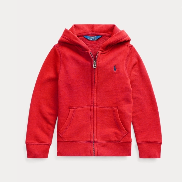 Ralph Lauren 拉夫劳伦 Cotton-Blend Terry Hoodie 2-6岁拉链卫衣