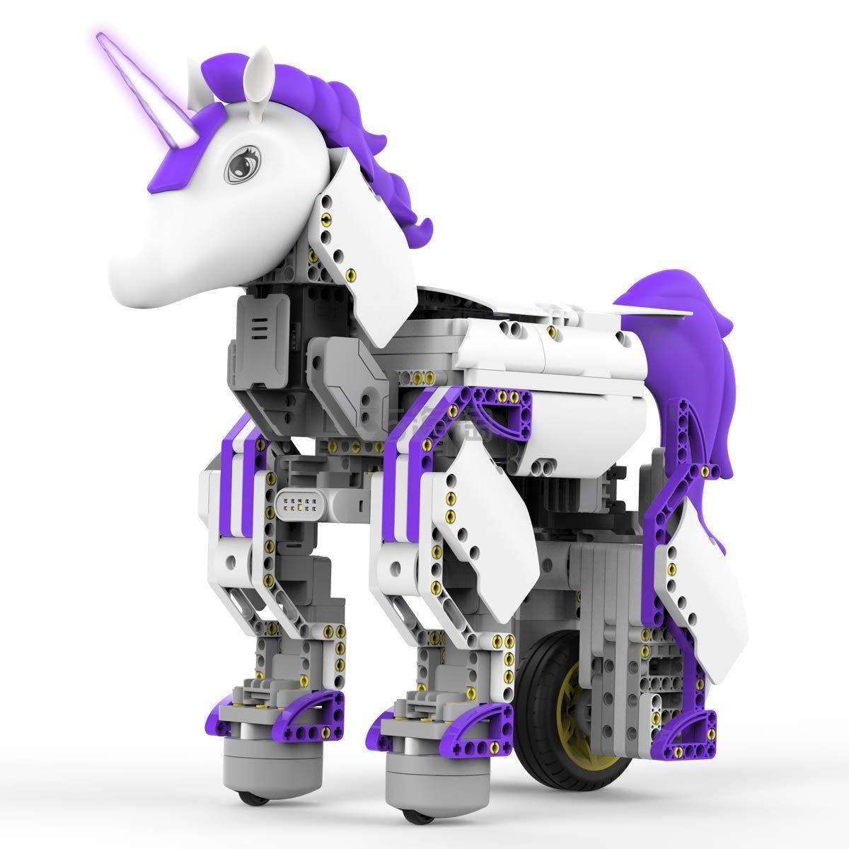 【中亚prime会员】UBTECH 优必选 Jimu系列 JRA0201 魔力独角兽机器人 到手价598元 - 海淘优惠海淘折扣|55海淘网