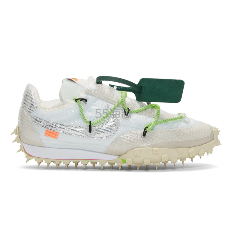 Nike X Off-White 联名款 Race 白色运动鞋 0(约1,037元) - 海淘优惠海淘折扣|55海淘网