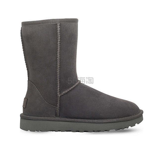 UGG Classic ii Short sheepskin 皮毛一体雪地靴 £106.86(约993元) - 海淘优惠海淘折扣|55海淘网