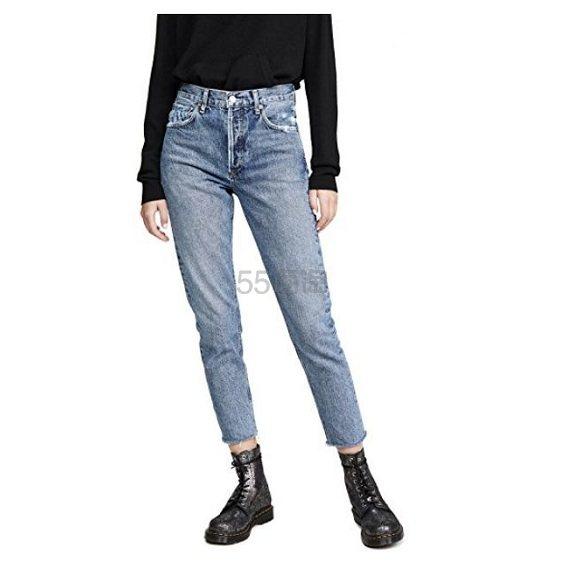 AGOLDE Jamie 高腰经典牛仔裤 8(约1,300元) - 海淘优惠海淘折扣|55海淘网