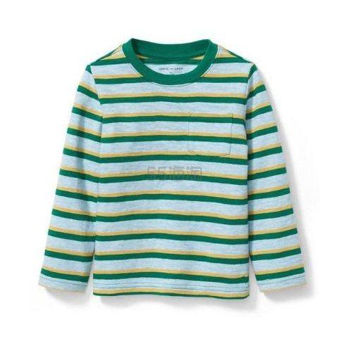 Janie and Jack 长袖条纹T恤衫 .79(约60元) - 海淘优惠海淘折扣|55海淘网