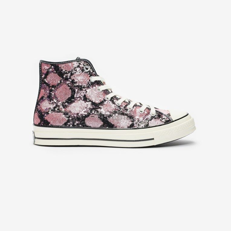 Converse Chuck 70s 粉色闪片高帮帆布鞋 .3(约432元) - 海淘优惠海淘折扣|55海淘网