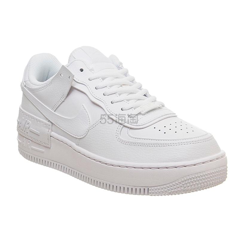 Nike Shadow 空军1号白色运动鞋 4(约846元) - 海淘优惠海淘折扣 55海淘网