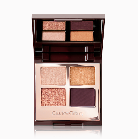 Charlotte Tilbury CT 限量新品 The Queen of Glow 四色眼影盘