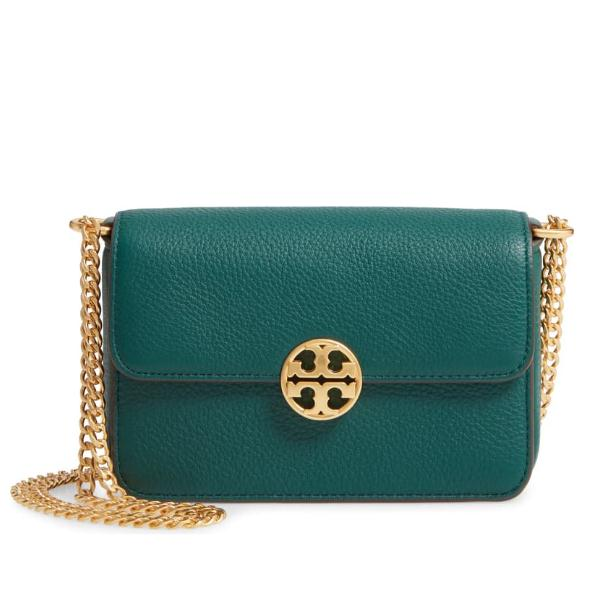 TORY BURCH Mini Chelsea 真皮斜挎包