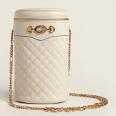 GUCCI 古驰 Trapuntata Quilted Leather 皮革桶包