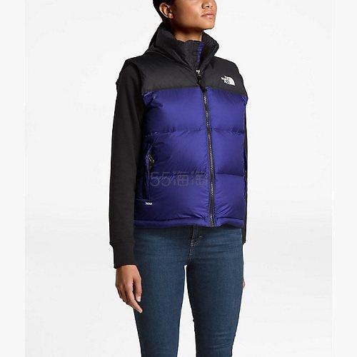 【满额外8.5折】剩小码~The North Face 北面 1996 Retro Nuptse 女款700蓬羽绒背心 .58(约608元) - 海淘优惠海淘折扣|55海淘网