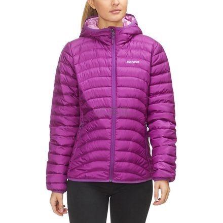 多色~Marmot 土拨鼠 Aruna Hooded Down 女款保暖羽绒服外套 .95(约692元) - 海淘优惠海淘折扣|55海淘网