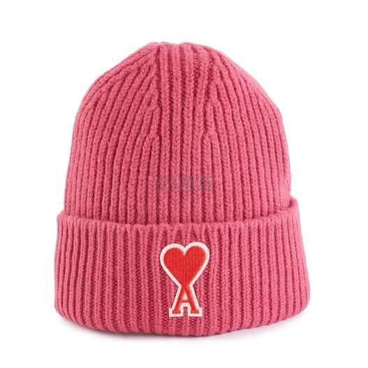 AMI Ami de Cœur 羊毛毛线帽 (约543元) - 海淘优惠海淘折扣|55海淘网