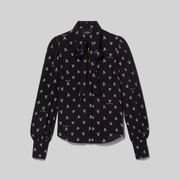 Marc Jacobs 小马哥 The Blouse 印花衬衫