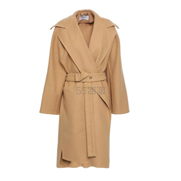 CHLOÉ Belted 羊毛混纺大衣 ,068(约7,396元) - 海淘优惠海淘折扣|55海淘网