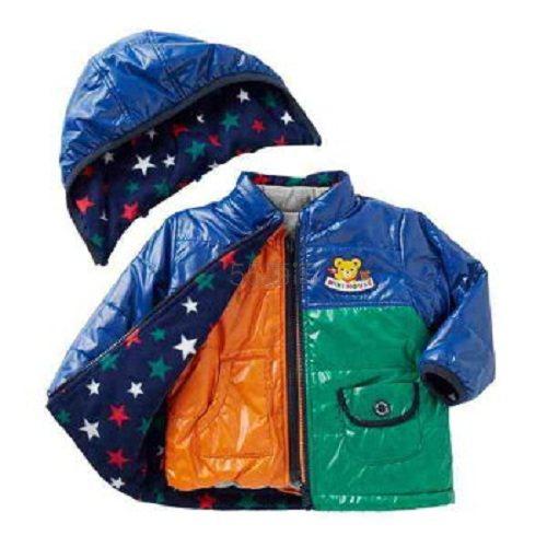 6.6折+最高5倍积分+国际运费减免!MikiHouse putchi 高密度5穿保暖外套 2色可选 20,624日元(约1,295元) - 海淘优惠海淘折扣|55海淘网