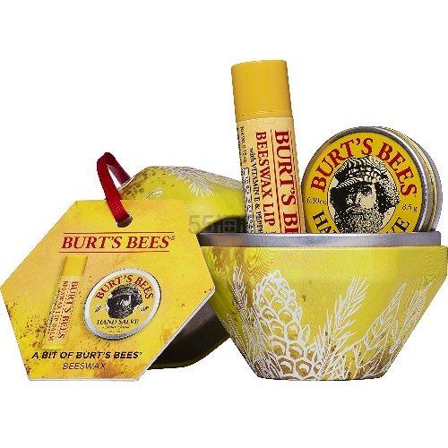 【中亚Prime会员】Burts Bees 小蜜蜂 蜜蜡保湿滋润礼盒套装 润唇膏4.25g+润手霜8.5g 到手价49元 - 海淘优惠海淘折扣|55海淘网