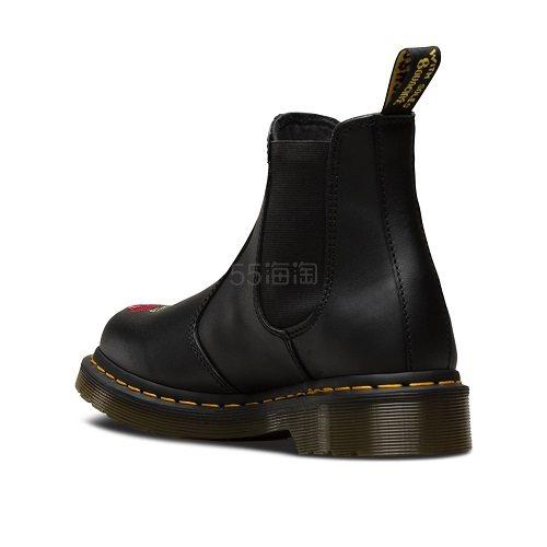 Dr. Martens 刺绣切尔西女士短靴 24725001 £85(约740元) - 海淘优惠海淘折扣|55海淘网