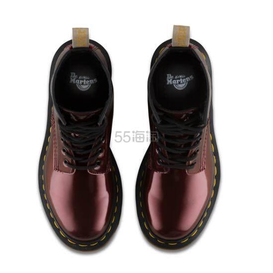 Dr. Martens 马汀博士 1460 8孔高帮剑桥马丁靴 镭射酒红色 £65(约565元) - 海淘优惠海淘折扣|55海淘网