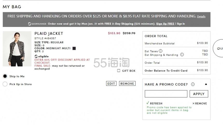 Ann Taylor:精选 时尚女士服装 正价商品6折+折扣区商品额外4折 - 海淘优惠海淘折扣|55海淘网