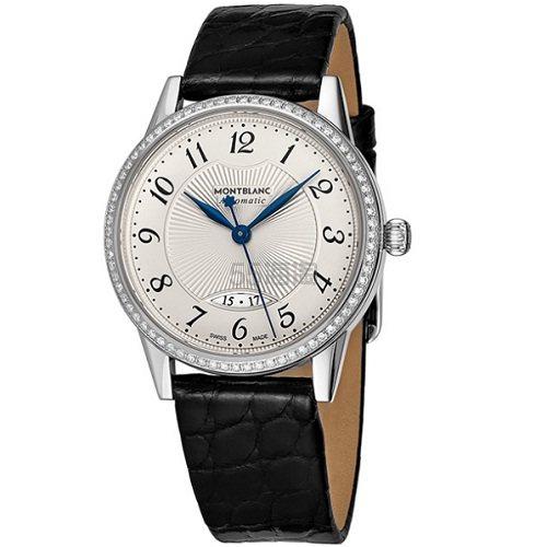 3.2折!Montblanc 万宝龙 Boheme 系列 镶钻圆盘女士优雅腕表 111057