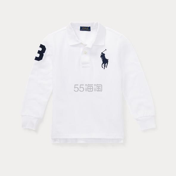 Ralph Lauren 大童白色长袖 .79(约73元) - 海淘优惠海淘折扣|55海淘网
